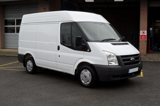 JT Commercials Ford Transit